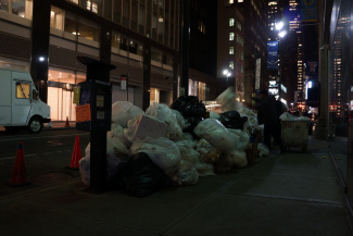 The waste of New York city